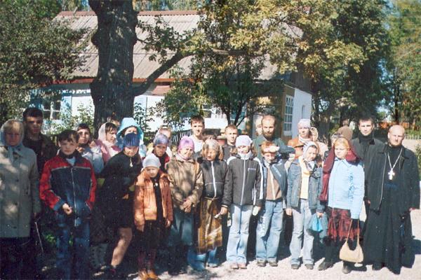 Учащиеся 5-х классов школы № 38  г. Тулы вместе с классным руководителем