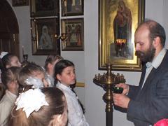 Д.Б. Струков с учениками ОПК