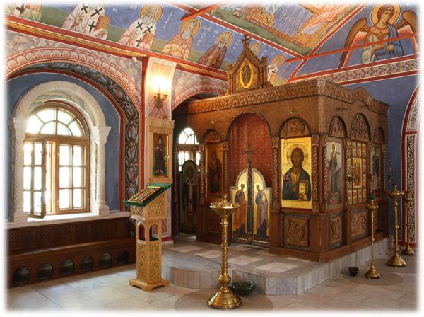 Константиновский придел Пущинского храма
