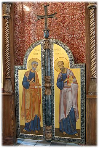 Царские врата Константиновского придела