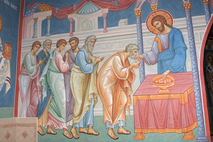 Причащение апостолов. Храм Михаила Архангела г.Пущино