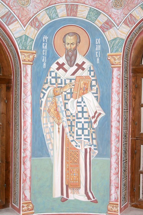 Василий Великий. Алтарь храма Михаила Архангела г.Пущино