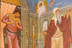 Притча о мытаре и фарисее. Храм Михаила Архангела г.Пущино