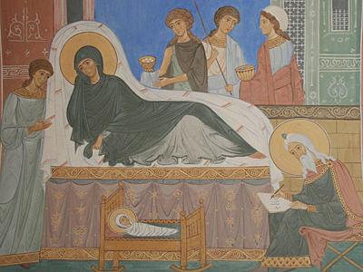 Росписи Троице-Сыпанова Пахомиево-Нерехтского монастыря