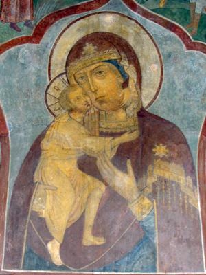 Феодоровская икона. Роспись Ипатьевского монастыря