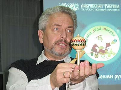 Андрей Смирнов. Мороз-мастер. Лавровская фабрика художественной росписи