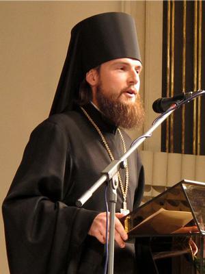 Ректор РПБУ св.Иоанна Богослова игумен Петр (Еремеев) на VI Чтениях ЦФО