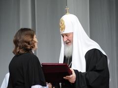 Награждение Захаровой Л.А.