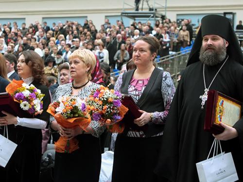 """Победители конкурса """"За нравственный подвиг учителя"""" 2011"""
