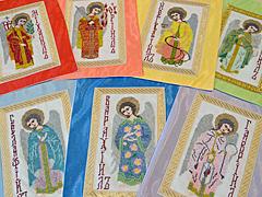 Ангелы, Архангелы, вышивка схемы