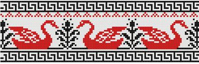 """Орнамент """"Лебеди"""""""