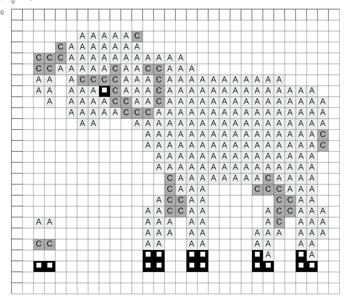 Схема овечки для Вертепа