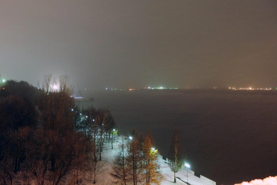 Пермь. Река Кама