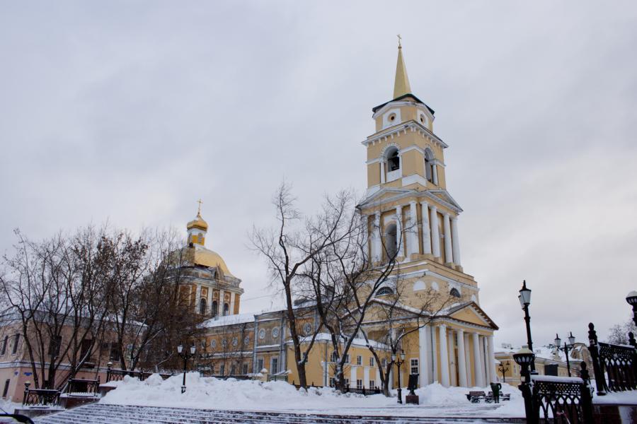 Спасо-Преображенский собор г.Перми (ныне здание Пермской художественной галереи)
