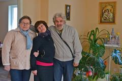 Ольга и Михаил Богрые, Таисия Модина - эстонские коллеги