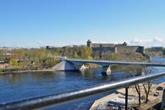 Река Нарова - граница Росси и Эстонии