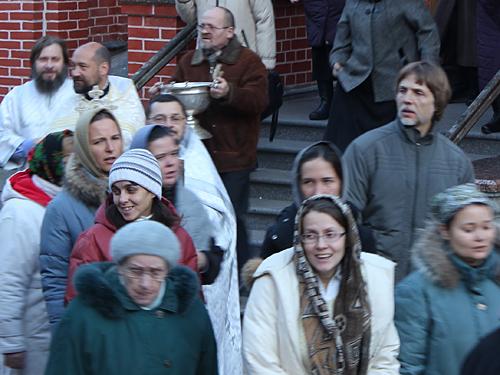 Престольный праздник 21.11.2011