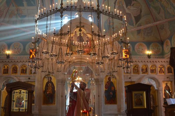 Светлая седмица в Пущинском храме
