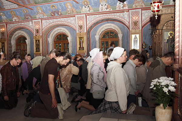 Коленопреклоненные молитвы