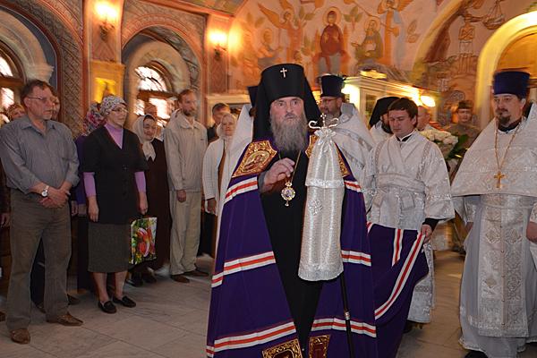 Встреча архиепископа Григория