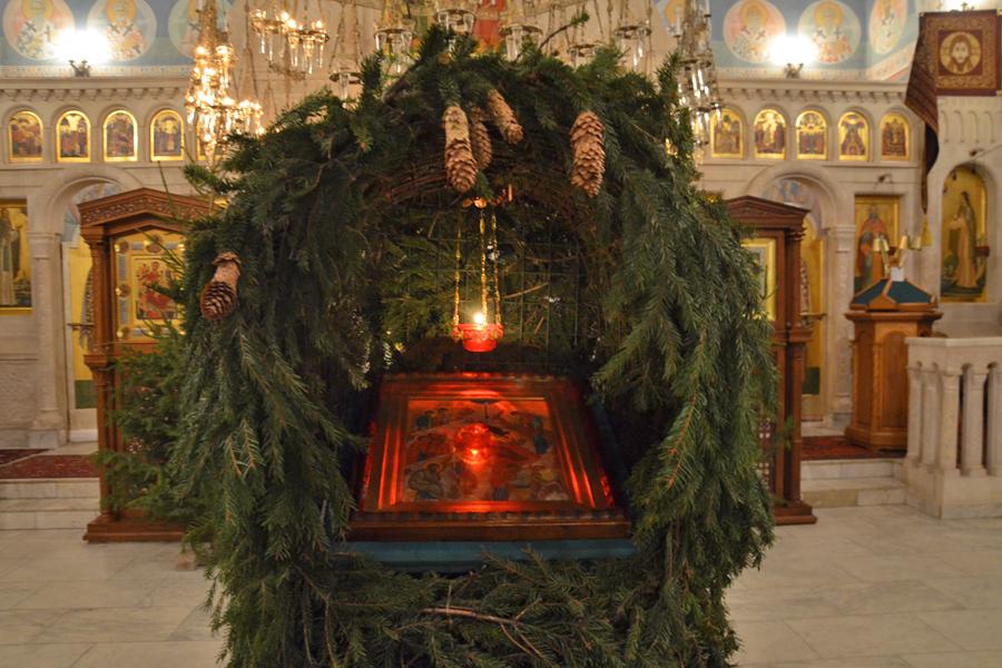 Рождество храм Пущино
