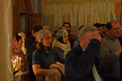 Пасха 2013 в Михаило-Архангельском храме г.Пущино