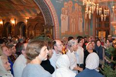 07.01.2014 Рождественское богослужение в Пущинском храме