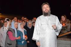 20.04.2014 Пасхальное богослужение в г.Пущино