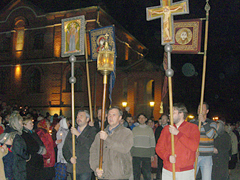Пасхальный Крестный ход 2011