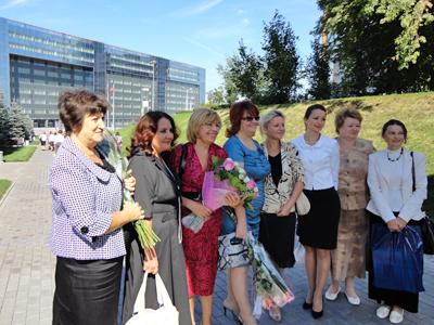 Пущинская делегация на Большом педсовете Подмосковья 2011