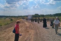 16.07.14 Крестный ход Хотьково-Сергиев Посад