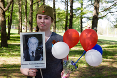 Пущинские прихожане в День Победы