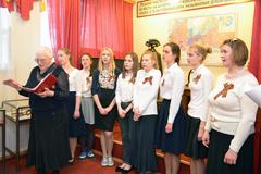 08.05.2015 День Победы в Пущинском музее