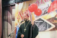 Протоиерей Дионисий Крюков на педагогической конференции