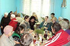 09.01.2014 Рождество в благотворительной столовой