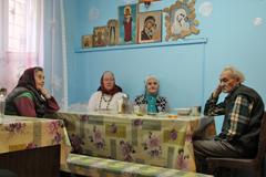 07.02.2014 Духовные беседы в благотворительной столовой