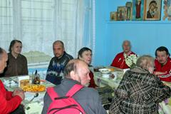 День Победы в Пущинской благотворительной столовой