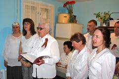 08.05.2014 День Победы в Пущинской благотворительной столовой