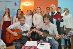 04.11.2014 День народного единства в Пущинской благотворительной столовой