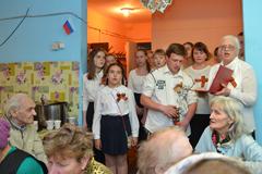 09.05.2015 День Победы в Пущинской благотворительной столовой