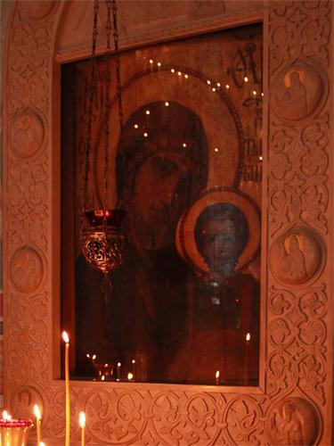 Казанская икона Богородицы Михаило-Архангельский храм Пущино