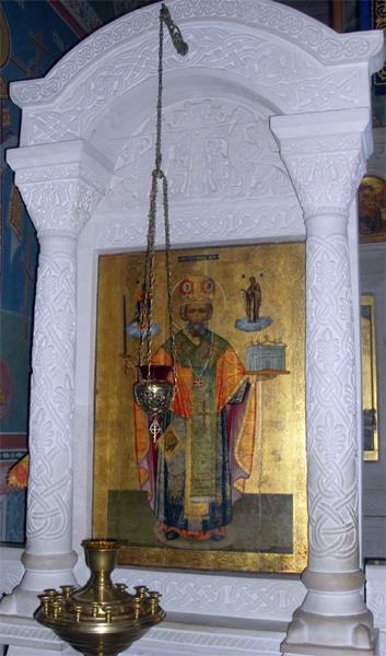 Святитель Николай в Пущинском храме