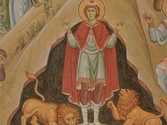 Пророк Даниил во рву со львами