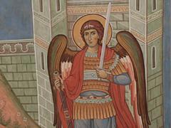 Архангел Михаил является Иисусу Навину при Иерихоне