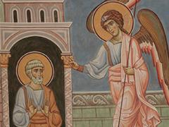 Изведение апостола Петра Ангелом из темницы