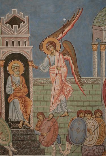 Изведение Апостола Петра из темницы Ангелом
