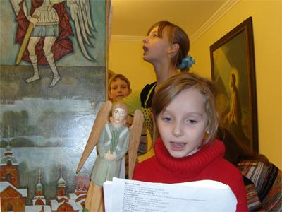 Репетиция вертепа 2009