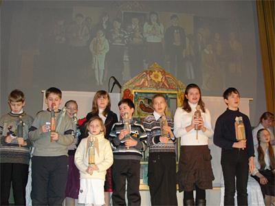 Вертеп в КДЦ Молодость 2009