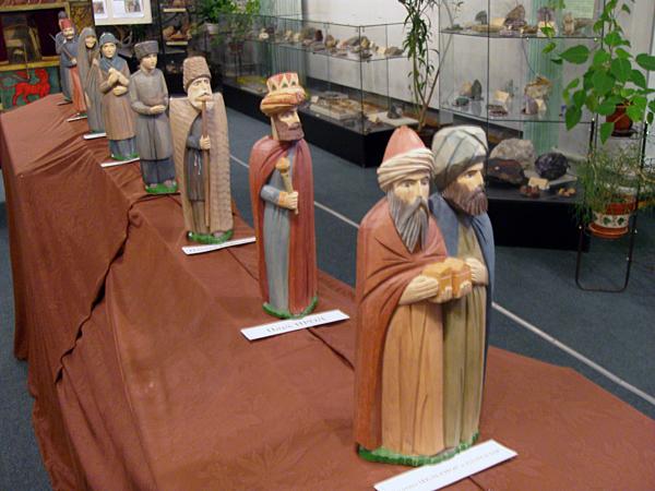 Вертепное представление и выставка вертепных кукол в Пущинском музее