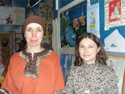 матушка Ольга и тетя Лариса
